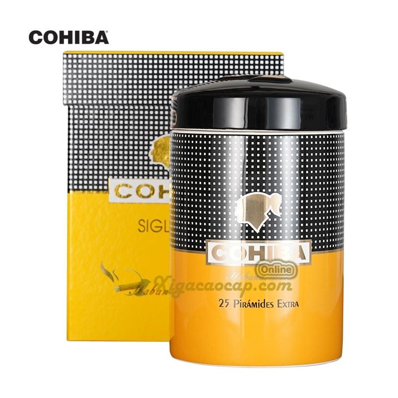 lo dung xi ga cohiba 1 - Lọ đựng xì gà Cohiba - 25 điếu