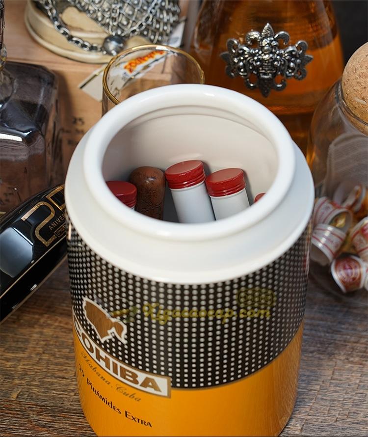 lo dung xi ga cohiba 8 - Lọ đựng xì gà Cohiba - 25 điếu