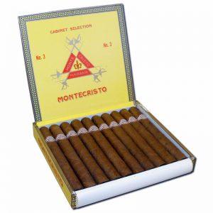 Monte NO3 10s  300x300 - Montecristo No. 3 - 25 điếu