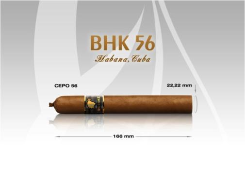 Kích thước Cohiba Behike 56