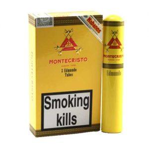 cigars montecristo edmundo tubos pack 300x300 - Montecristo Edmundos Tubos- 3 điếu