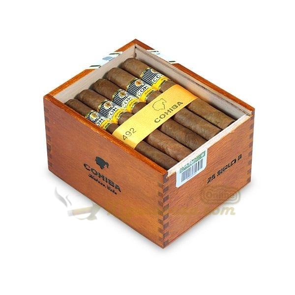 Mở lắp hộp gỗ Cohiba Siglo II