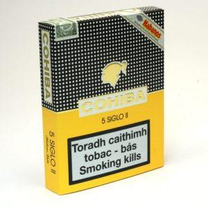 cohiba siglo II 5 pack cuban cigars 300x300 - Cohiba Siglo II Tubos - 3 điếu