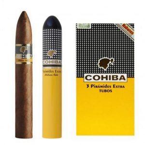 Xì gà ống Tubos Cohiba Piramides Extra