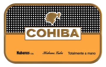 logo cohiba 1 - Cohiba Siglo II - 25 điếu