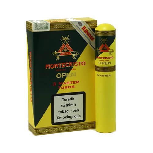montecristo open master tubos pack - Montecristo Open Master Tubos - 3 điếu