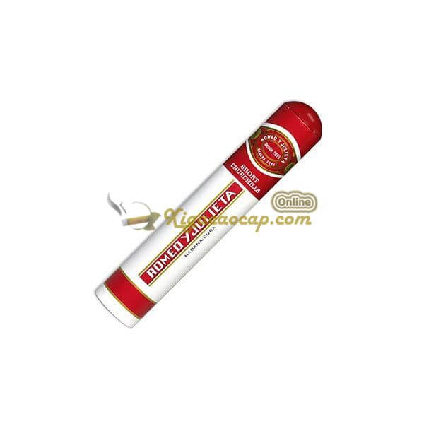 Điếu Romeo Short Churchill ống nhôm