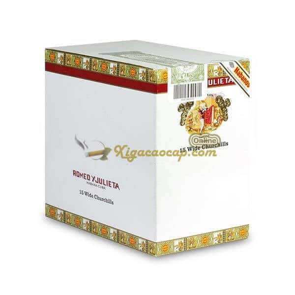 romeo wide churchill 3 - Romeo Y Julieta Wide Churchills Tubos  - 3 điếu