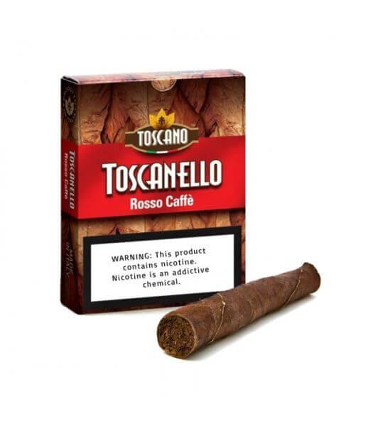 Hộp và điếu Toscanello Rosso Caffe