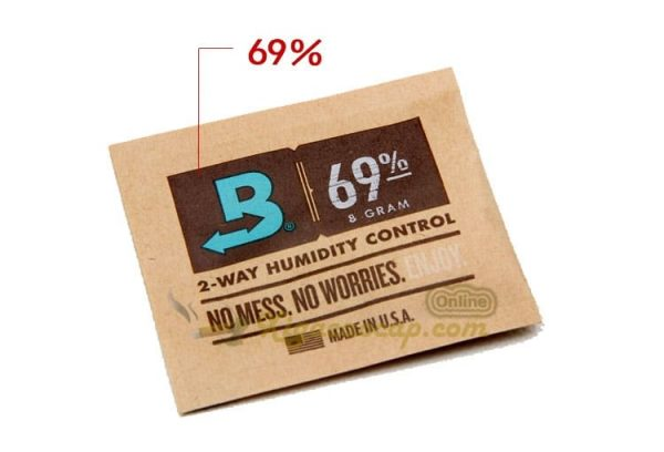Boveda cân bằng ẩm 2 chiều độ ẩm 69% - Gói 8g