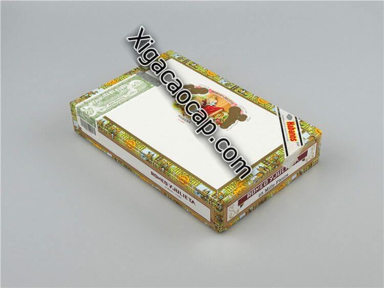 Romeo Y Julieta Mille Fleurs có đóng gói hộp 10 và hộp 25 điếu
