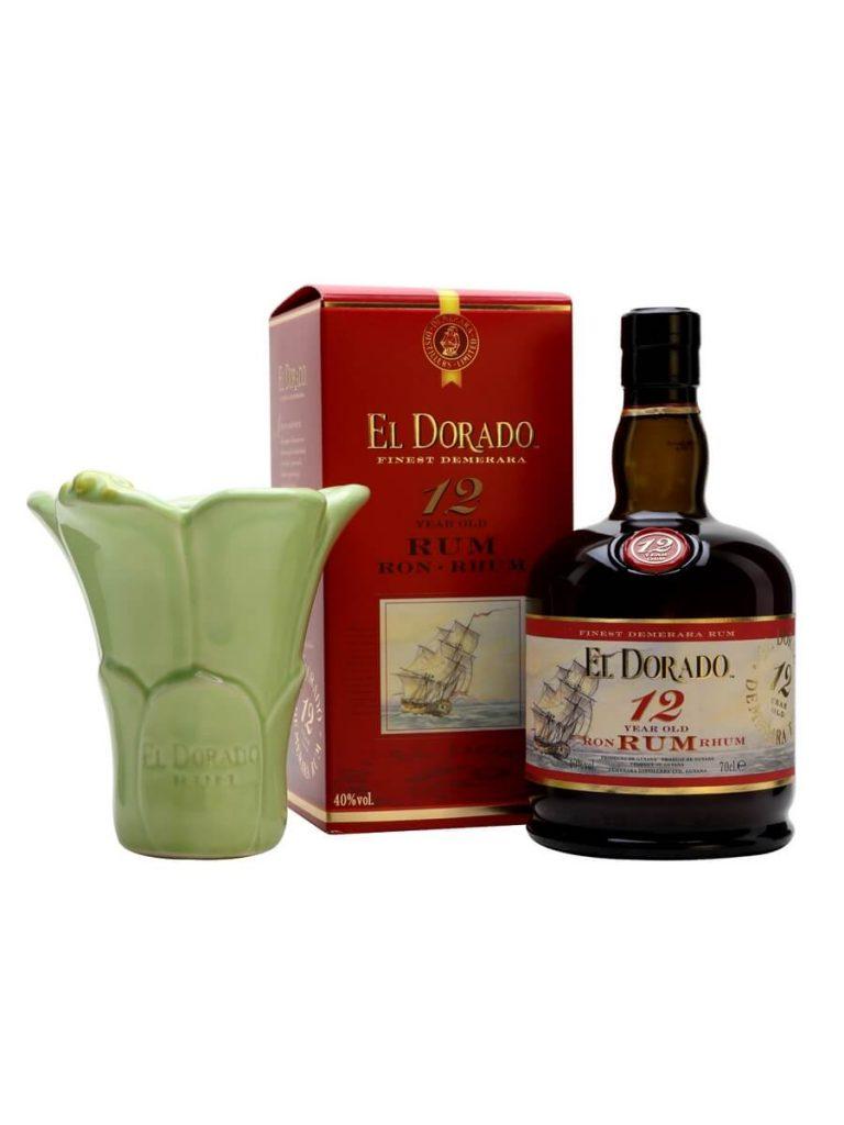 El Dorado Rum 12 Year Old cùng xì gà ngọt ngào cho bữa tối