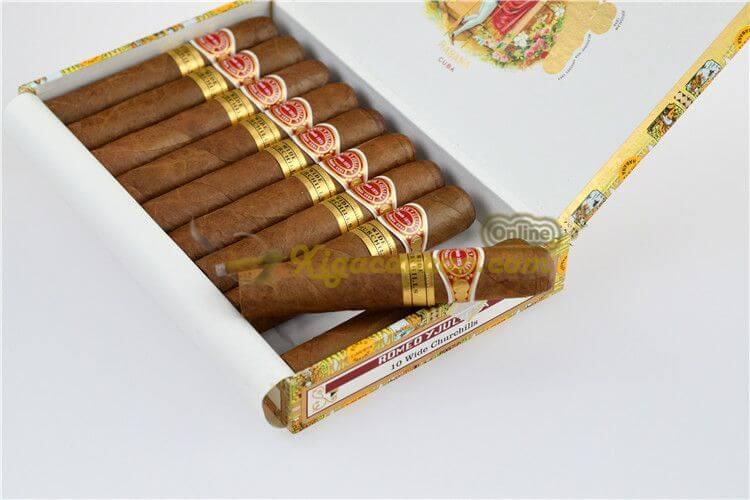Mở Hộp Romeo Wide Churchill 10 điếu và điếu xì gà