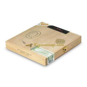 Hộp Partagas Serie D No.6 với 3 tem