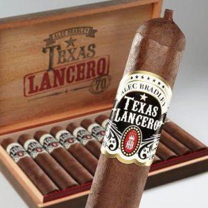 Điếu Alec Bradley Texas Lancero với to và dài với phong cách thiết kế kiểu Mỹ