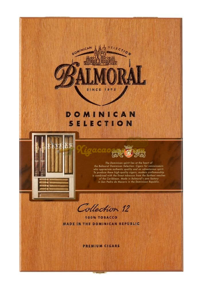 Balmoral Collection Year of the Monkey Edition 2 690x1024 - Balmoral Dominican Selection Collection - 12 điếu