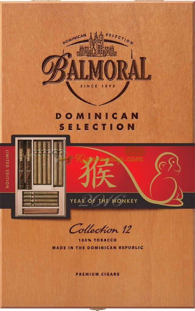 Balmoral Collection Year of the Monkey Edition 642x1024 - Balmoral Dominican Selection Collection - 12 điếu