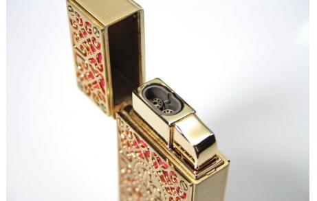 RP BURN LIGHTER GOLDandPINK SIDE LIGHTER 500x500 12 - Hộp quẹt Rocky Patel Burn Gold Series