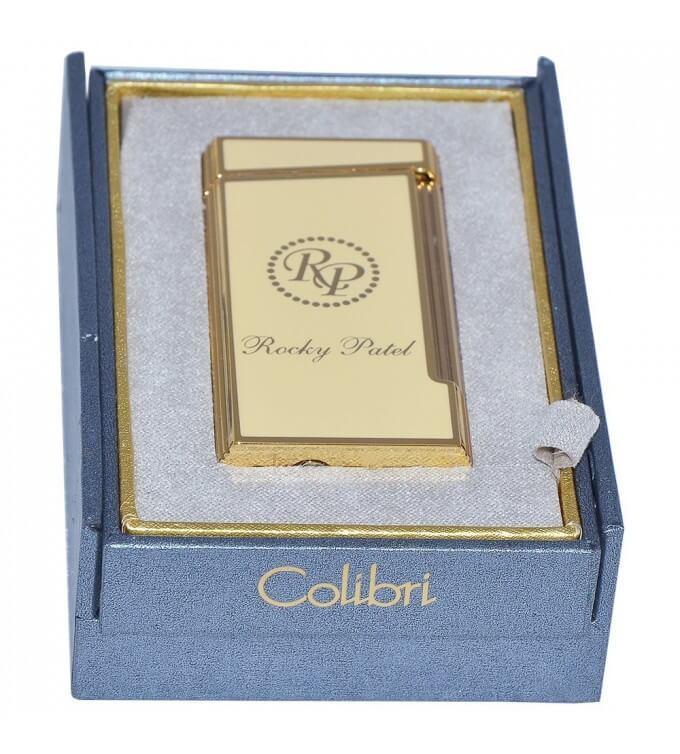 Hộp sản phẩm Decade Limited Edition Lighter thiết kế đặc biệt có cả logo của Colibri