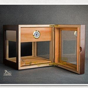 hop giu am lubinski 1 khay mat kinh 1 300x300 - Hộp giữ ẩm xì gà Lubinski 1 khay 4 mặt kính