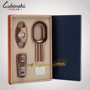 bo phu kien lubinski vintage 1992 300x300 - Bộ phụ kiện Cigar 3 món Lubinski Vintage 1992