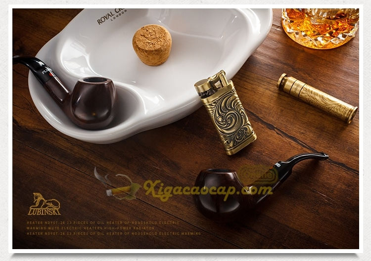 bo phukien hut tau cao cap lubinski luxury pipes 12 - Bộ phụ kiện hút tẩu cao cấp kèm 2 tẩu thuốc Lubinski Luxury Pipes
