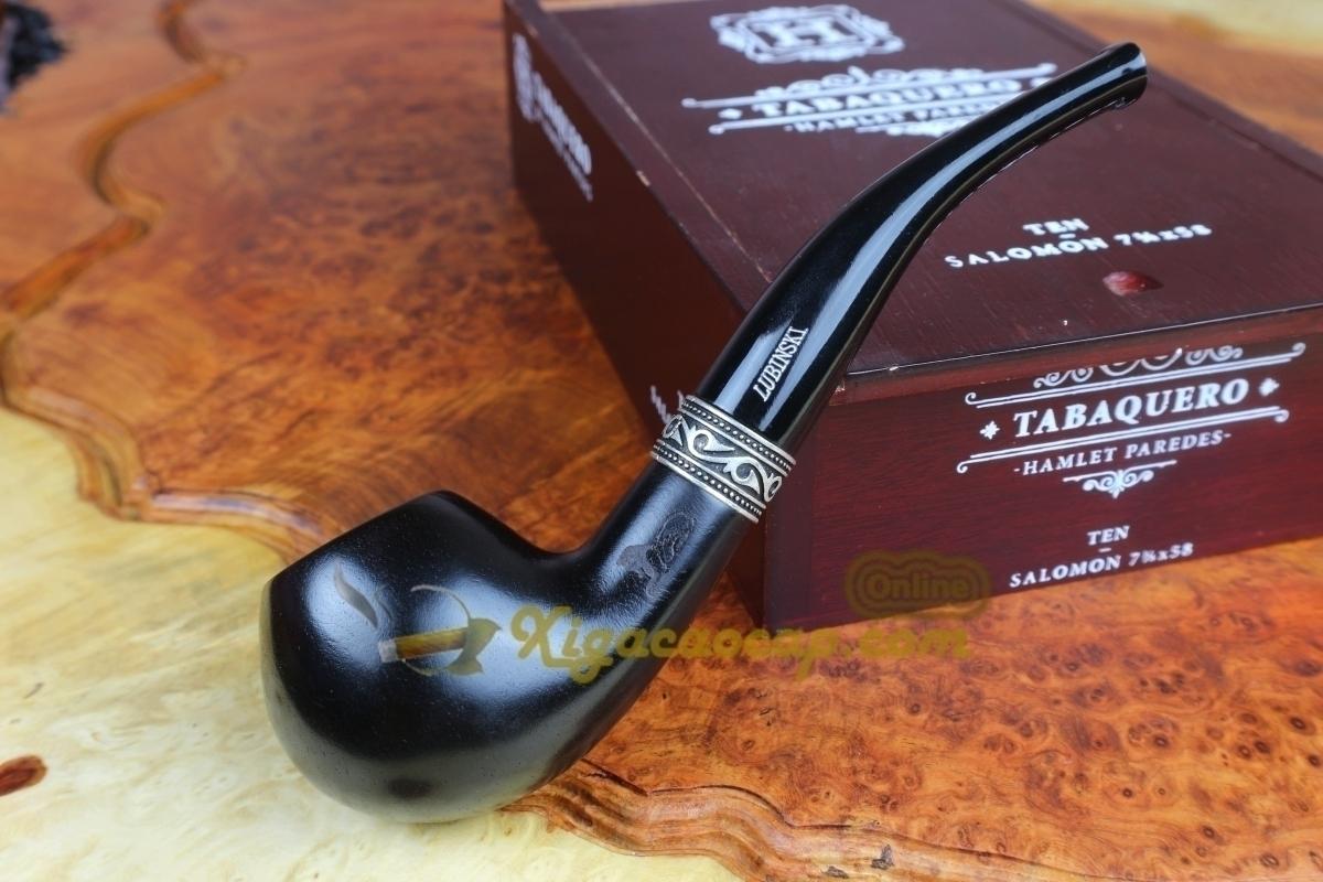 tau lubinski b2 3 - Tẩu xì gà Lubinski Black B2