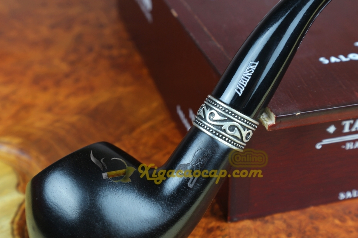 tau lubinski b2 5 1 - Tẩu xì gà Lubinski Black B2