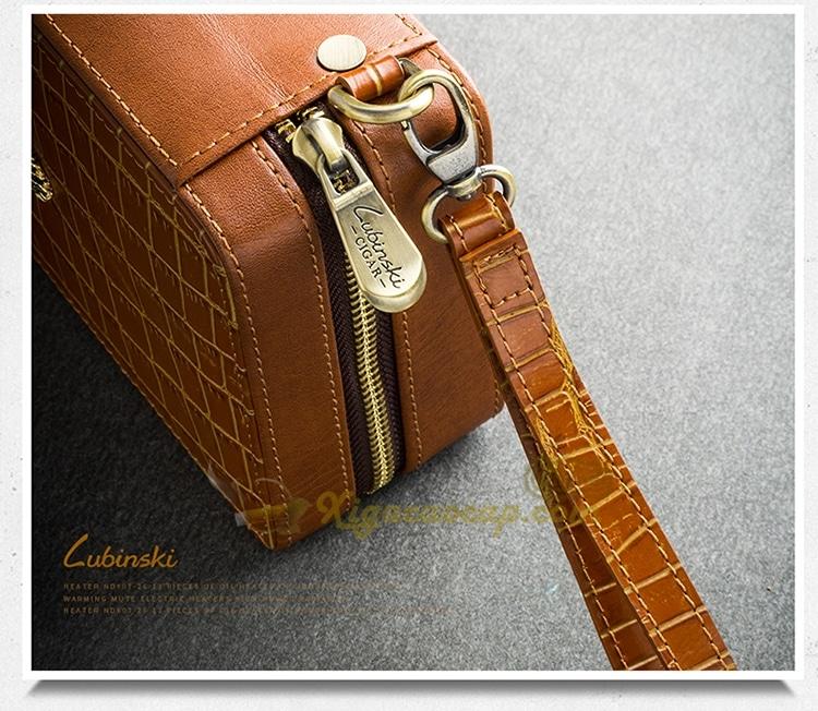 hop xi ga lubinski cigar box 4 - Hộp xì gà Cầm Tay 4 điếu Lubinski Cigar Box