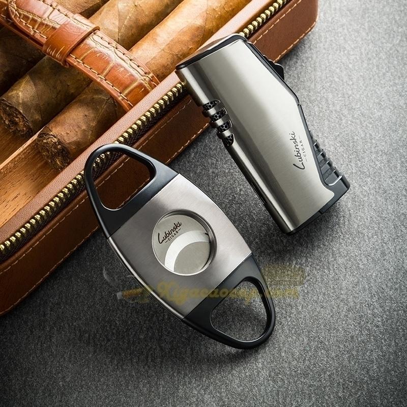 hop xi ga lubinski cigar box 5 - Hộp xì gà Cầm Tay 4 điếu Lubinski Cigar Box