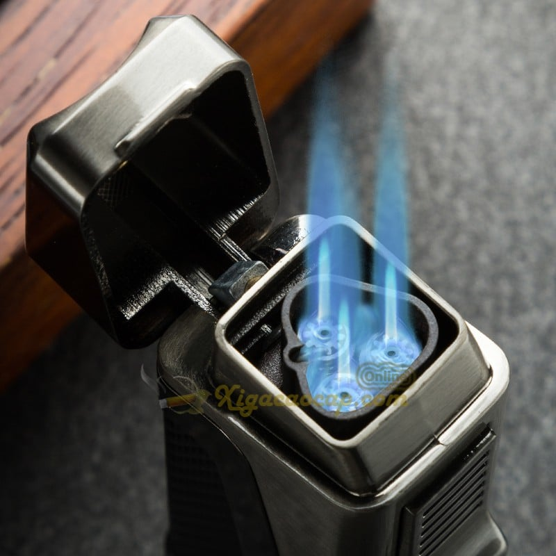 bat lua lubinski t1 4 - Bật lửa Châm xì gà Lubinski T1 - 3 lửa