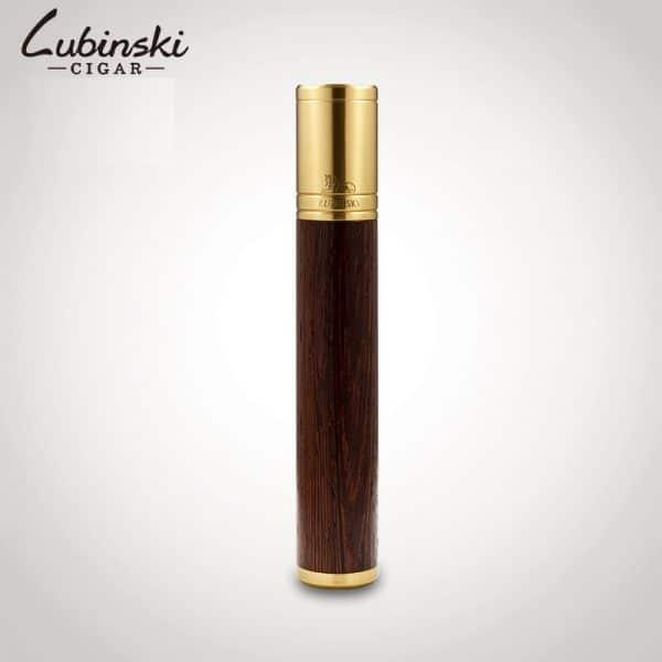 Ống đựng xì gà Lubinski gỗ cao cấp - 1 điếu