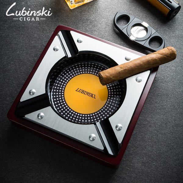 Gạt tàn xì gà Lubinski chữ nhật