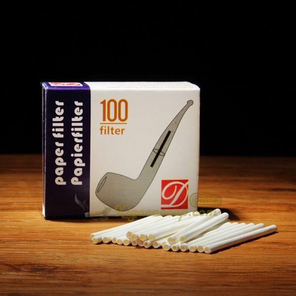 Lõi lọc tẩu D-Brand paper filter 3mm - Hộp 100 cái