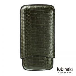 Bao da xì gà Lubinski Green Snake da rắn thật
